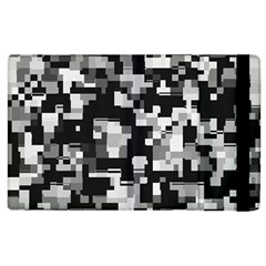 Noise Texture Graphics Generated Apple iPad 2 Flip Case