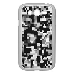 Noise Texture Graphics Generated Samsung Galaxy Grand DUOS I9082 Case (White)