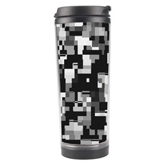 Noise Texture Graphics Generated Travel Tumbler