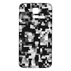 Noise Texture Graphics Generated Samsung Galaxy S5 Back Case (White)