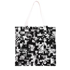 Noise Texture Graphics Generated Grocery Light Tote Bag