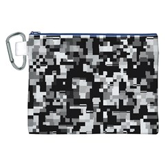 Noise Texture Graphics Generated Canvas Cosmetic Bag (XXL)