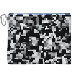 Noise Texture Graphics Generated Canvas Cosmetic Bag (XXXL)