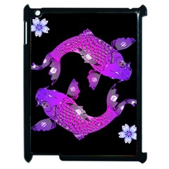 Koi Carp Fish Water Japanese Pond Apple iPad 2 Case (Black)