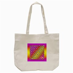 Happy And Merry Music Tote Bag (Cream)