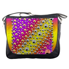 Happy And Merry Music Messenger Bags