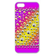 Happy And Merry Music Apple Seamless iPhone 5 Case (Clear)