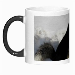 Siberian Husky Sitting in snow Morph Mugs
