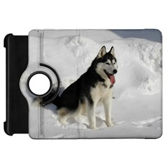 Siberian Husky Sitting in snow Kindle Fire HD 7