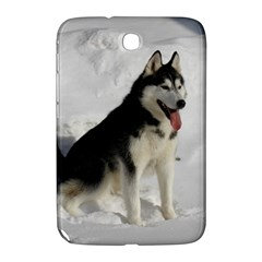 Siberian Husky Sitting in snow Samsung Galaxy Note 8.0 N5100 Hardshell Case