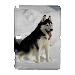 Siberian Husky Sitting in snow Galaxy Note 1