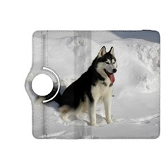Siberian Husky Sitting in snow Kindle Fire HDX 8.9  Flip 360 Case
