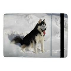 Siberian Husky Sitting in snow Samsung Galaxy Tab Pro 10.1  Flip Case
