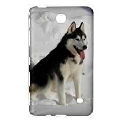 Siberian Husky Sitting in snow Samsung Galaxy Tab 4 (8 ) Hardshell Case