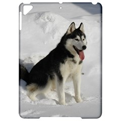 Siberian Husky Sitting in snow Apple iPad Pro 9.7   Hardshell Case