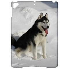 Siberian Husky Sitting in snow Apple iPad Pro 9.7   Hardshell Case