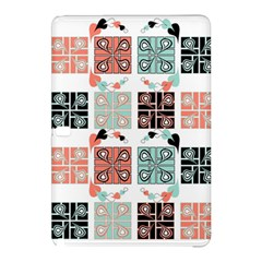 Mint Black Coral Heart Paisley Samsung Galaxy Tab Pro 10.1 Hardshell Case