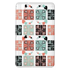 Mint Black Coral Heart Paisley Samsung Galaxy Tab Pro 8.4 Hardshell Case