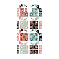 Mint Black Coral Heart Paisley Samsung Galaxy Alpha Hardshell Back Case
