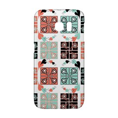 Mint Black Coral Heart Paisley Galaxy S6 Edge