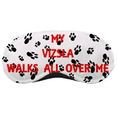 My Vizsla Walks On Me  Sleeping Masks