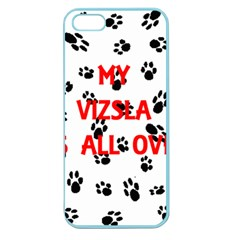 My Vizsla Walks On Me  Apple Seamless iPhone 5 Case (Color)