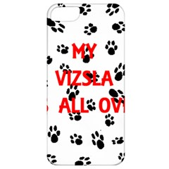 My Vizsla Walks On Me  Apple iPhone 5 Classic Hardshell Case