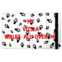 My Vizsla Walks On Me  Apple iPad 2 Flip Case