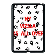 My Vizsla Walks On Me  Apple iPad Mini Case (Black)