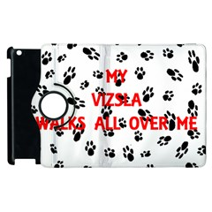 My Vizsla Walks On Me  Apple iPad 2 Flip 360 Case