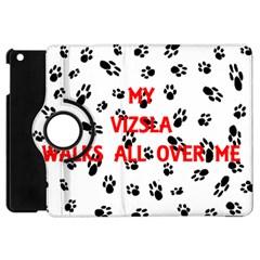 My Vizsla Walks On Me  Apple iPad Mini Flip 360 Case