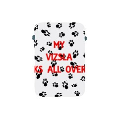 My Vizsla Walks On Me  Apple iPad Mini Protective Soft Cases
