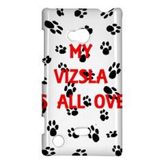 My Vizsla Walks On Me  Nokia Lumia 720