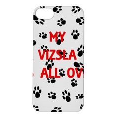 My Vizsla Walks On Me  Apple iPhone 5S/ SE Hardshell Case