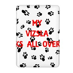 My Vizsla Walks On Me  Samsung Galaxy Tab 2 (10.1 ) P5100 Hardshell Case