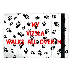 My Vizsla Walks On Me  Samsung Galaxy Tab Pro 10.1  Flip Case
