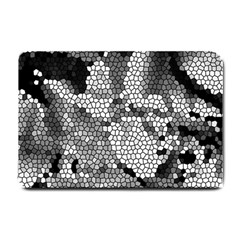 Mosaic Stones Glass Pattern Small Doormat