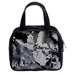 Mosaic Stones Glass Pattern Classic Handbags (2 Sides)