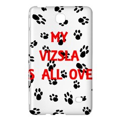 My Vizsla Walks On Me  Samsung Galaxy Tab 4 (7 ) Hardshell Case