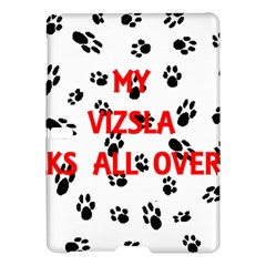 My Vizsla Walks On Me  Samsung Galaxy Tab S (10.5 ) Hardshell Case