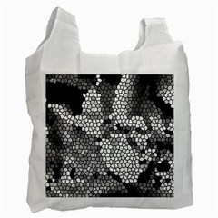 Mosaic Stones Glass Pattern Recycle Bag (Two Side)