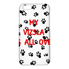 My Vizsla Walks On Me  iPhone 6/6S TPU Case