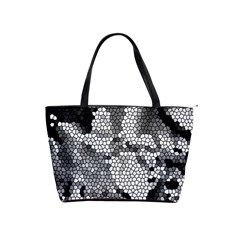 Mosaic Stones Glass Pattern Shoulder Handbags
