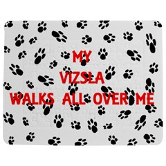 My Vizsla Walks On Me  Jigsaw Puzzle Photo Stand (Rectangular)