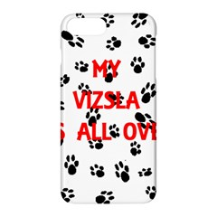 My Vizsla Walks On Me  Apple iPhone 7 Plus Hardshell Case