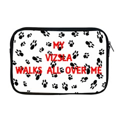 My Vizsla Walks On Me  Apple MacBook Pro 17  Zipper Case