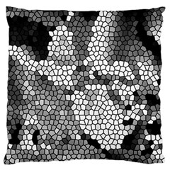 Mosaic Stones Glass Pattern Standard Flano Cushion Case (Two Sides)