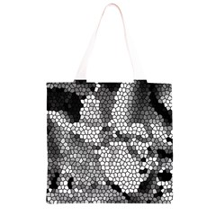 Mosaic Stones Glass Pattern Grocery Light Tote Bag