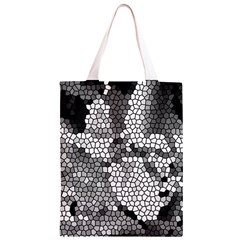 Mosaic Stones Glass Pattern Classic Light Tote Bag