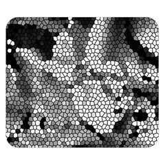 Mosaic Stones Glass Pattern Double Sided Flano Blanket (Small)